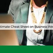 ultimate cheatsheet business wear anksimage